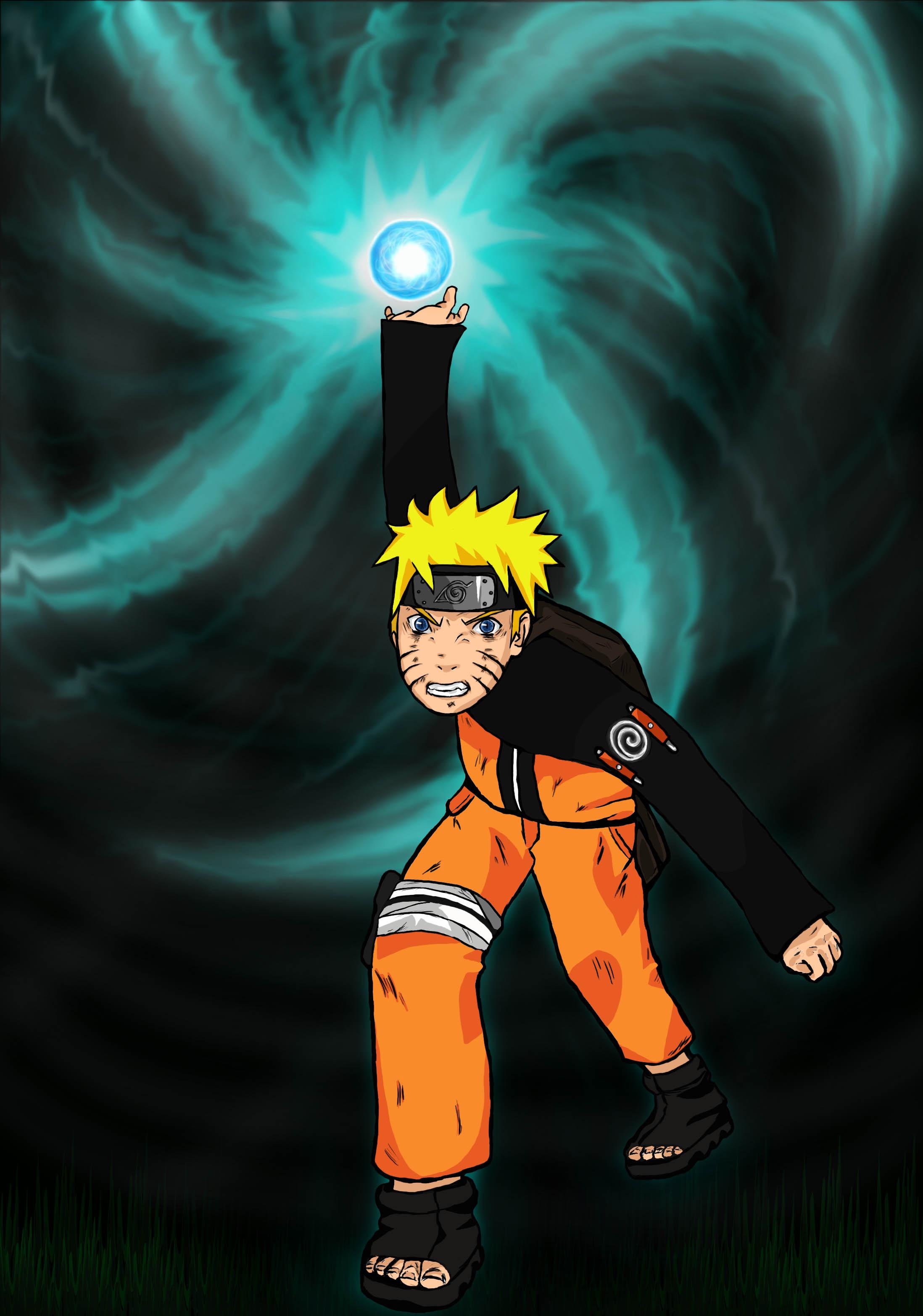 Why doesn t Sasuke Naruto using rasengan pictures